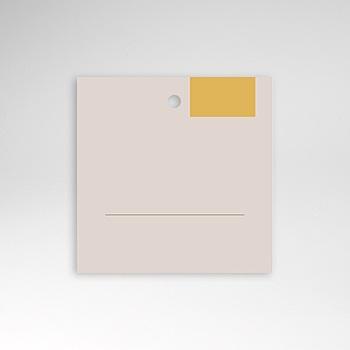 Tischkarten Hochzeit - Blush & Gold - 0