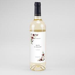 Flaschenetiketten Wein Marsala Krone