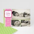 Dankeskarten Geburt für Mädchen Martha