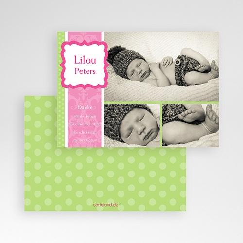 Dankeskarten Geburt Mädchen - Martha 716 preview
