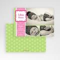 Dankeskarten Geburt Mädchen - Martha 716 test