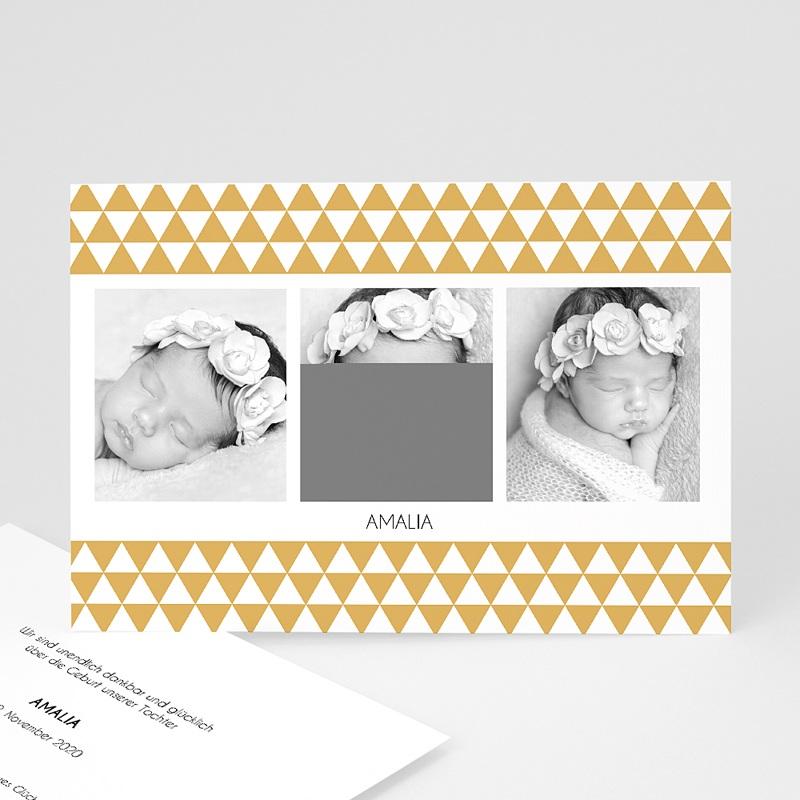 Geburtskarten für Mädchen Retro