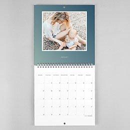 Kalender Nouvel An Ombré Look