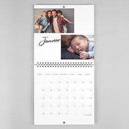 Kalender Nouvel An Modern Lettering