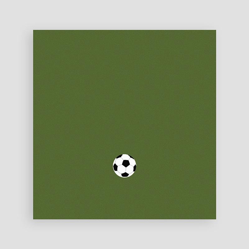 Einladungskarten Geburtstag Jungen Fussballparty pas cher