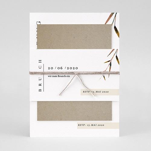 Einladungskarten Landhochzeit - Naturhochzeit 72272 thumb