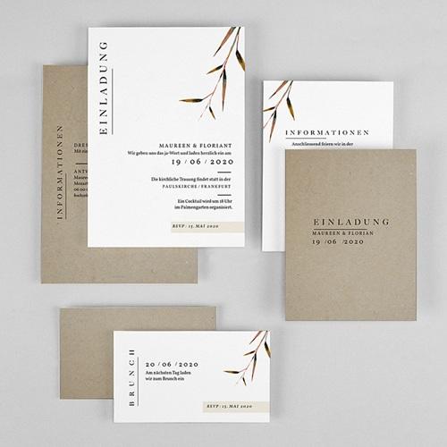 Einladungskarten Landhochzeit - Naturhochzeit 72273 thumb