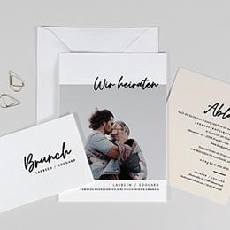 Hochzeitskarten mit Foto Mastic Majestic