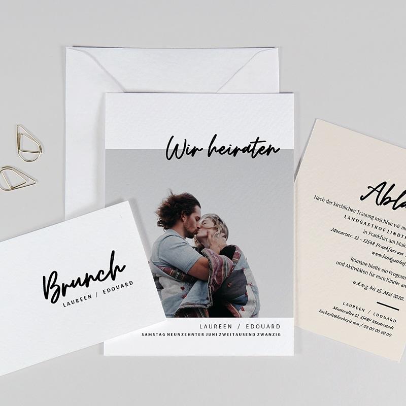 Hochzeitskarten mit Foto - Mastic Majestic 72301 thumb
