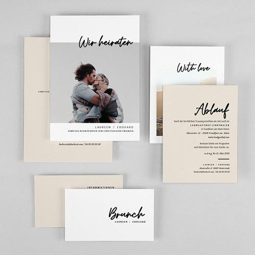 Hochzeitskarten mit Foto - Mastic Majestic 72303 thumb