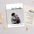 Hochzeitskarten mit Foto - Mastic Majestic 72304 thumb