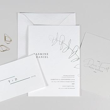 Einladungskarten Hochzeit  - Eukalyptus - 0