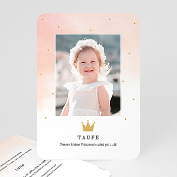 Taufkarten Prinzessin - Prinzessin - 0