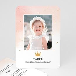 Karten Taufe Prinzessin