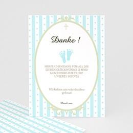 Danksagungskarten Taufe Ornament