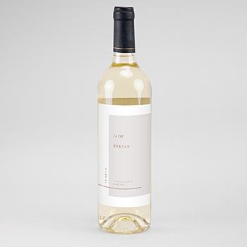 Flaschenetiketten Wein - Terracotta - 0