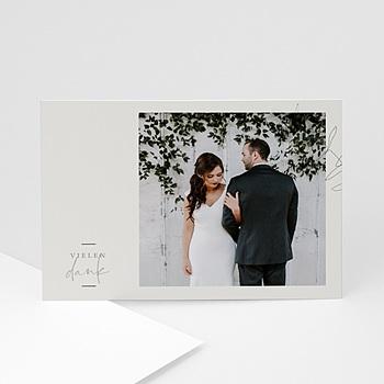 Stilvolle Danksagung Hochzeit - Eukalyptus - 0