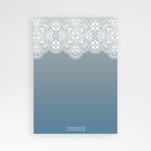 Einladungskarten Taufe Jungen  - Blau 7276 thumb