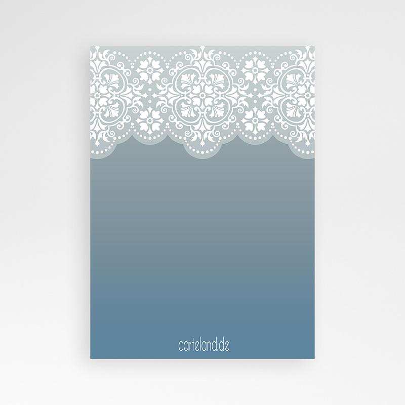 Einladungskarten Taufe für Jungen Blau pas cher