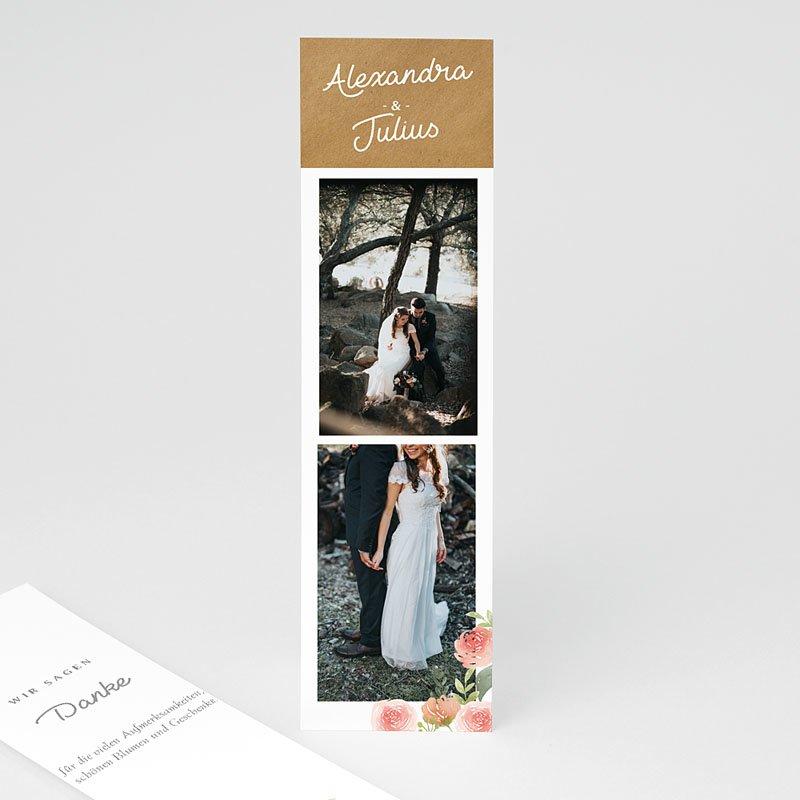 Landhochzeit Dankeskarten Hochzeit Florale Krone