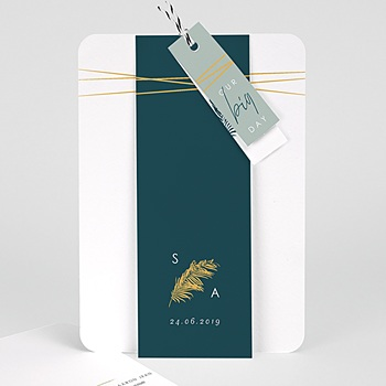 Einladungskarten Hochzeit  Inchyra blue