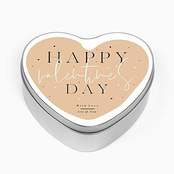 Blechdose mit Foto Valentine's Day