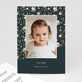 Einladungskarten Taufe Mädchen - Liberty Folk - 0