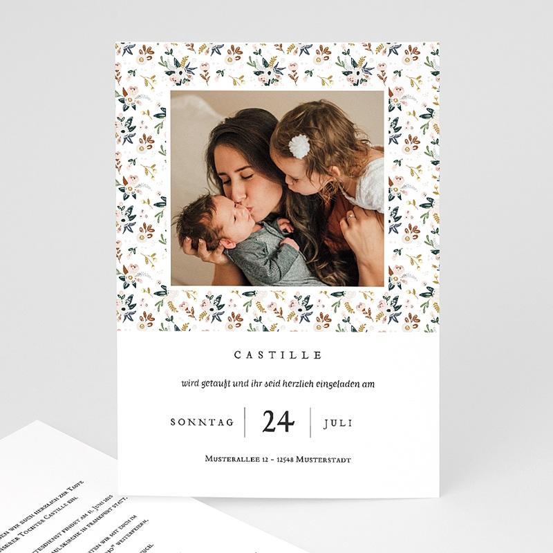 Einladungskarten Taufe für Mädchen Liberty Kinfolk