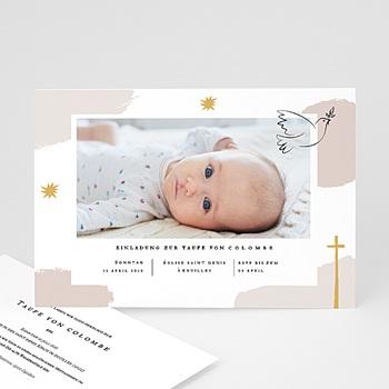Einladungskarten Taufe Mädchen - Artsy - 0