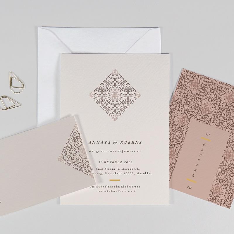 Hochzeitseinladungen Maurischer stil