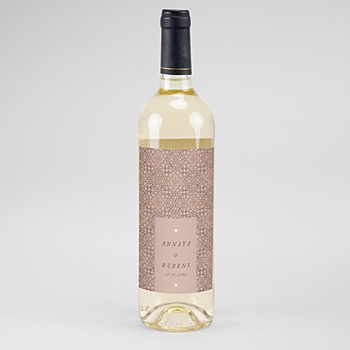 Flaschenetiketten Wein Maurischer stil