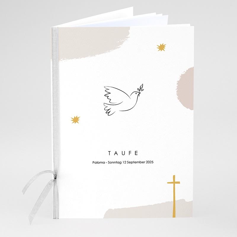 Kirchenhefte zur Taufe Picasso stil