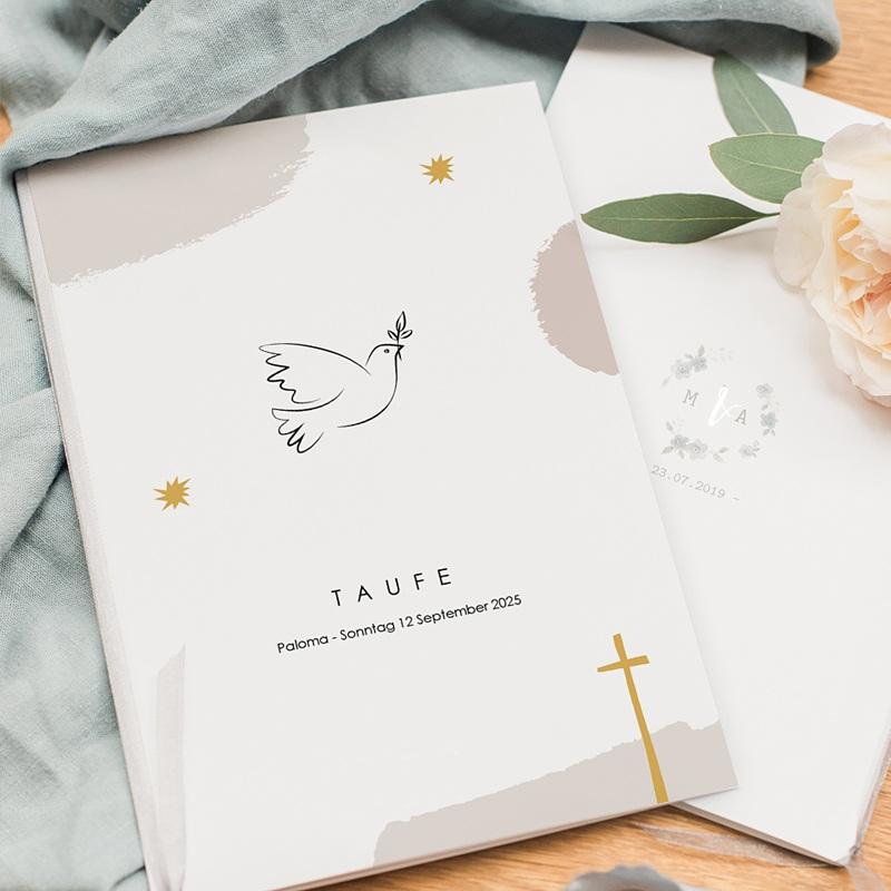 Kirchenhefte zur Taufe Picasso stil pas cher