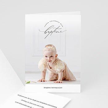 Einladungskarten Taufe Mädchen - Séraphine - 0