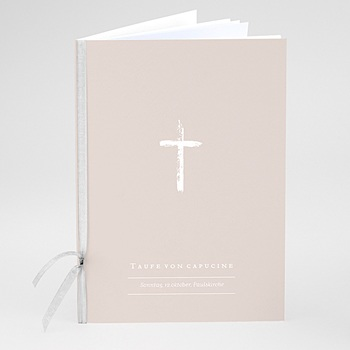 Kirchenhefte zur Taufe - Brush Effekt - 0