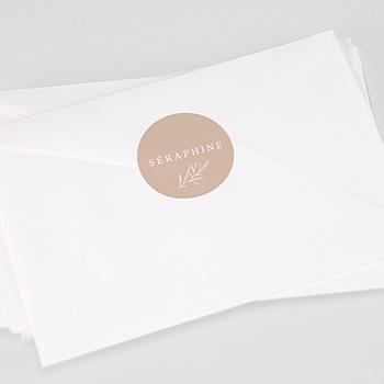 Aufkleber Taufe - Séraphine - 0