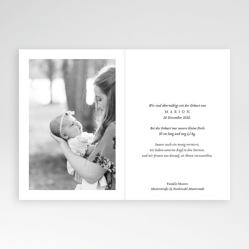Geburtskarten Zauberlaterne pas cher