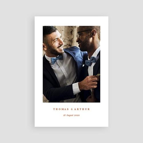 Kreative Dankeskarten Hochzeit Terrazzo Gold pas cher