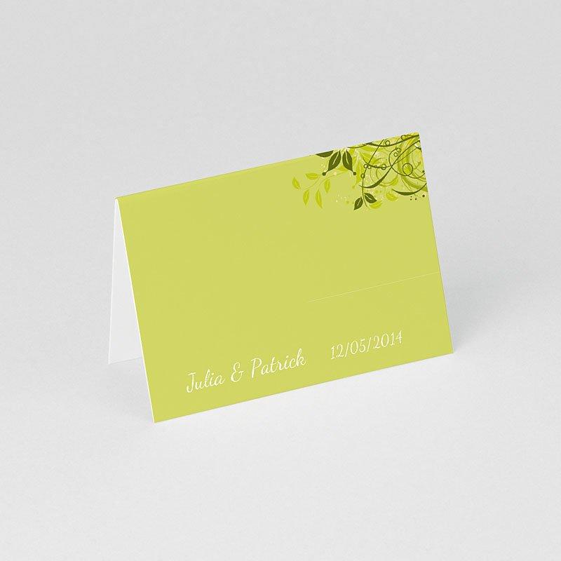 Tischkarten Hochzeit personalisiert Dezente Eleganz gratuit