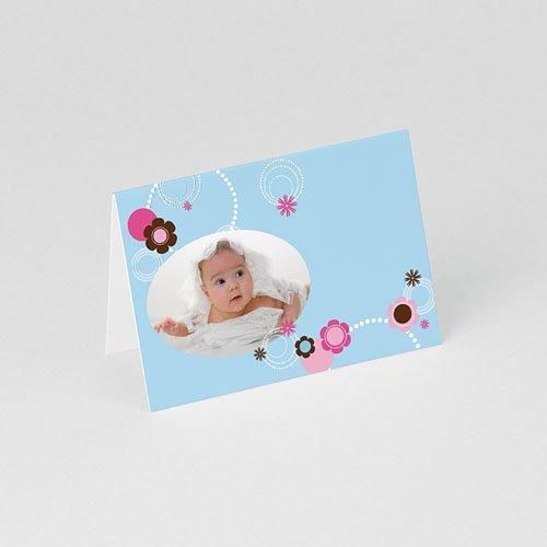 Tischkarten Taufe Viola gratuit