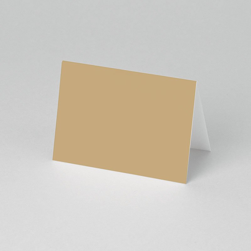 Tischkarten Kommunion Braun 1 pas cher