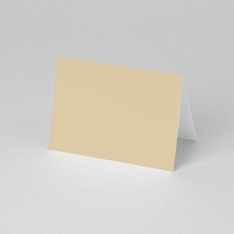 Tischkarten Kommunion In Beige pas cher
