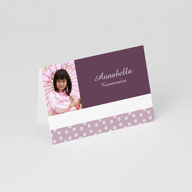 Tischkarten Kommunion Mädchen 1 gratuit