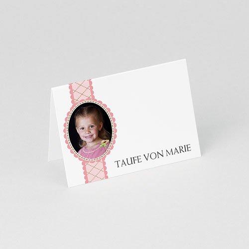 Tischkarten Taufe Schutz gratuit