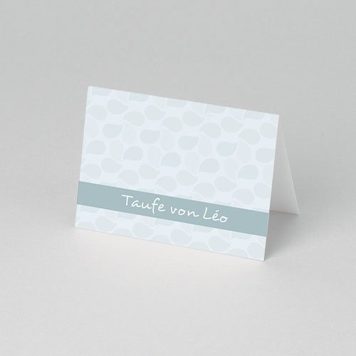 Tischkarten Taufe Rahmen pas cher