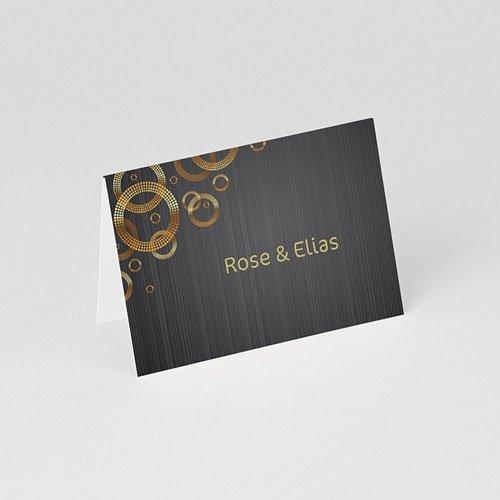 Tischkarten Geburtstag Hochzeitstag gratuit