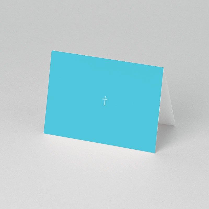Tischkarten Taufe Kreuz pas cher