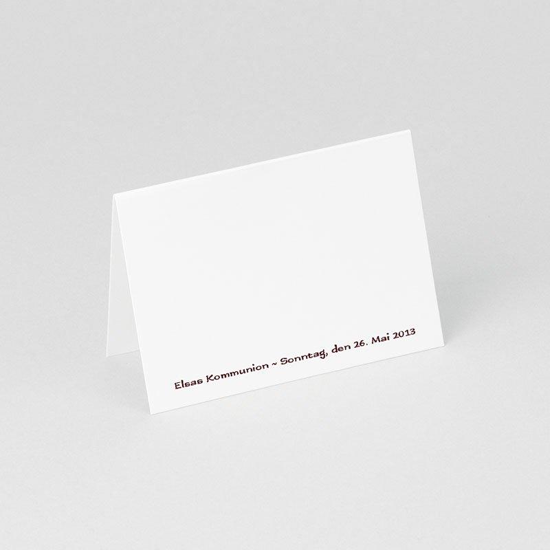 Tischkarten Kommunion Fotowerk gratuit