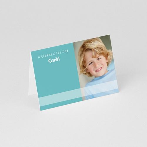 Tischkarten Kommunion - Blau 74428 thumb