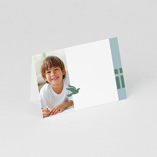 Tischkarten Kommunion Grün Blau gratuit